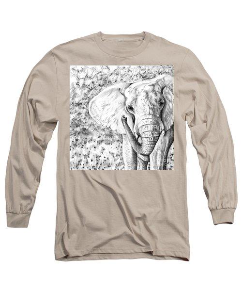 01 Of 30 Elephant Long Sleeve T-Shirt