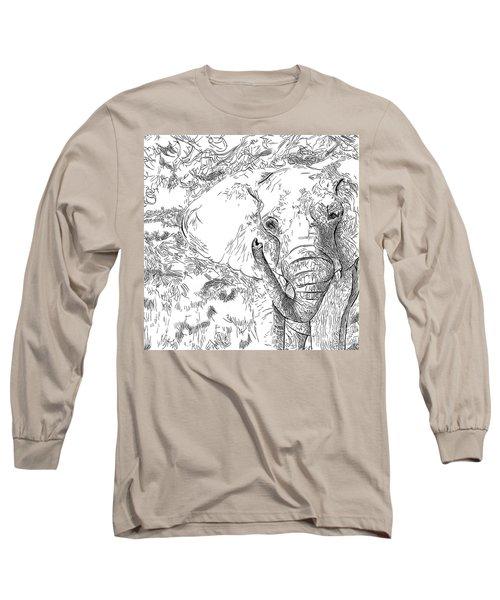 02 Of 30 Elephant Long Sleeve T-Shirt