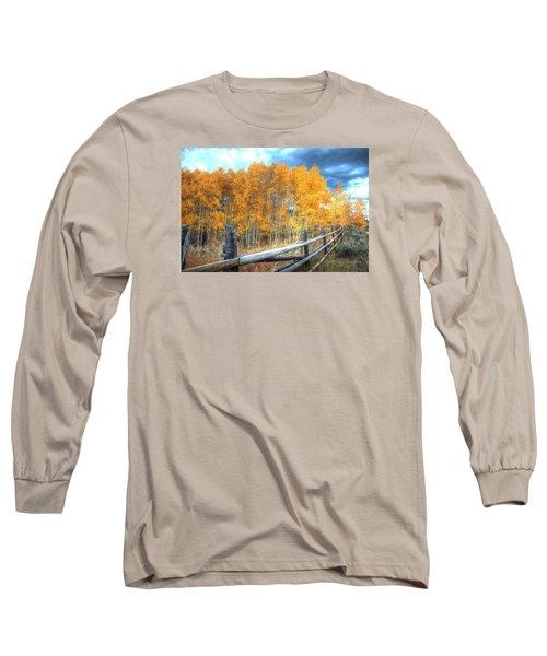 Autumn Fenced Long Sleeve T-Shirt