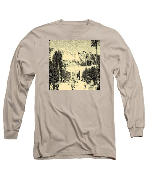 04252015 Mount Rush More Long Sleeve T-Shirt
