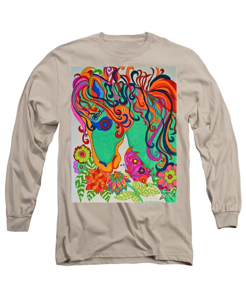 A Rainbow Called Romeo Long Sleeve T-Shirt