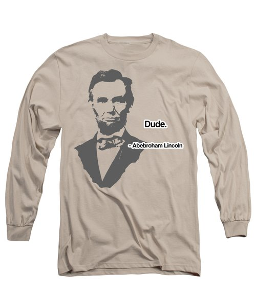 Abebroham Lincoln Long Sleeve T-Shirt by Michelle Murphy