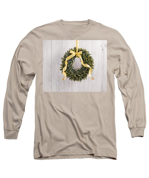 Long Sleeve T-Shirt featuring the photograph Advents Wreath by Ulrich Schade