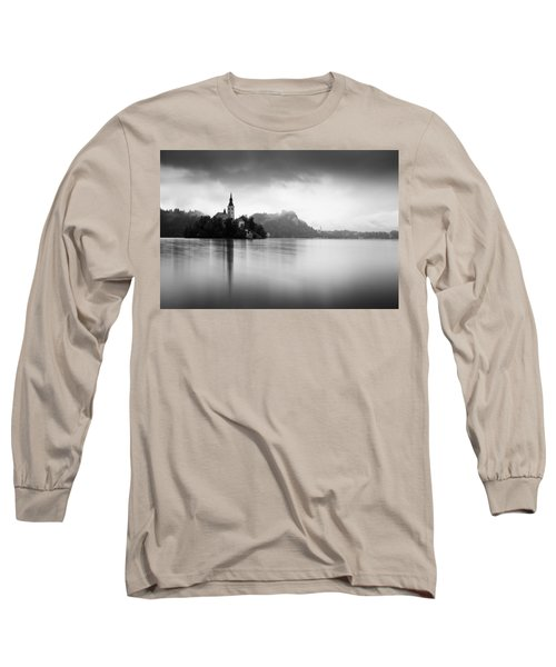 After The Rain At Lake Bled Long Sleeve T-Shirt