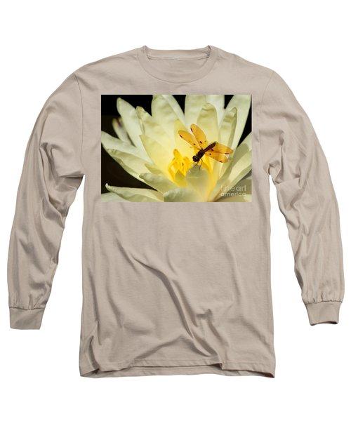 Amber Dragonfly Dancer 2 Long Sleeve T-Shirt