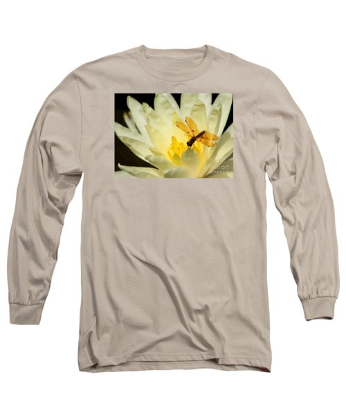 Amber Dragonfly Dancer 2 Long Sleeve T-Shirt