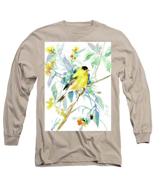 American Goldfinch Long Sleeve T-Shirt