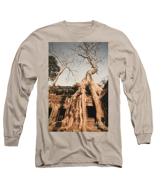 Long Sleeve T-Shirt featuring the photograph Angkor Wat by Juergen Held