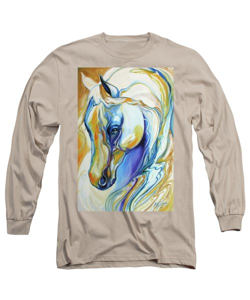 Arabian Abstract Long Sleeve T-Shirt