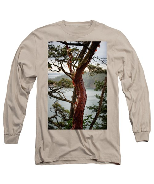 Arbutus Tree Long Sleeve T-Shirt