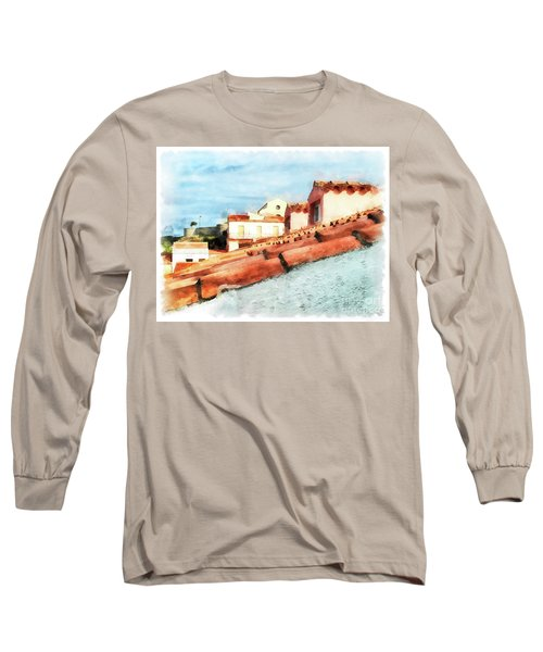 Arzachena Roof And Church Long Sleeve T-Shirt