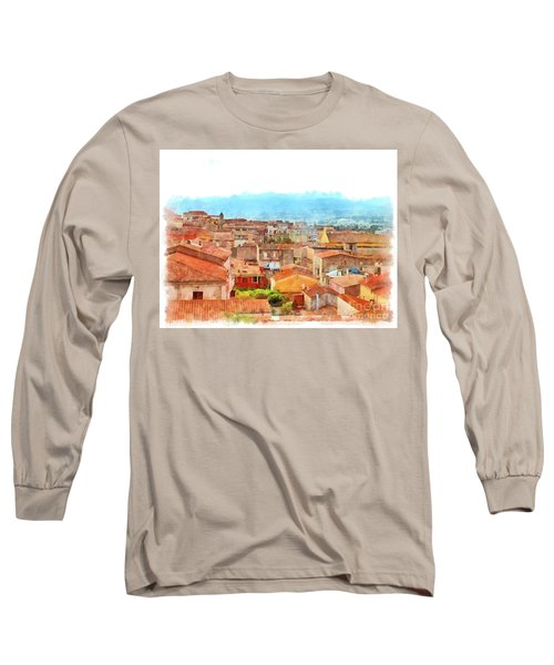 Arzachena Urban Landscape Long Sleeve T-Shirt