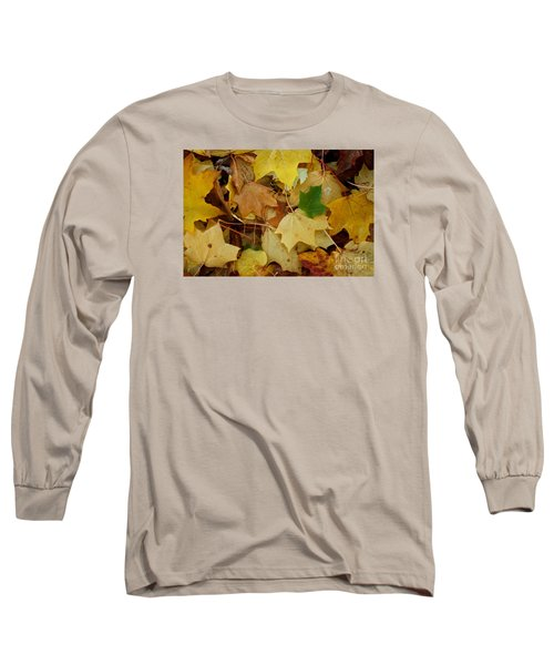 Long Sleeve T-Shirt featuring the photograph Autumn Leaves  by Gary Bridger