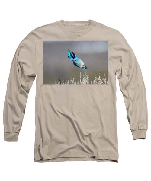 Long Sleeve T-Shirt featuring the photograph Bank Right by Mike Dawson