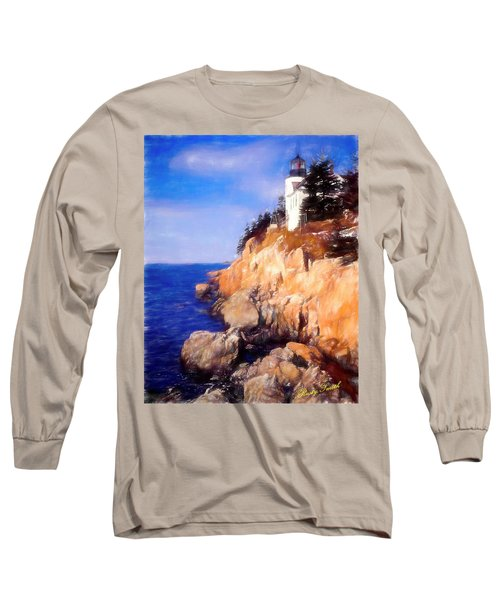 Bass Harbor Lighthouse,acadia Nat. Park Maine. Long Sleeve T-Shirt