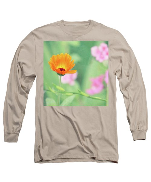 Be Beautiful Long Sleeve T-Shirt by Robin Dickinson