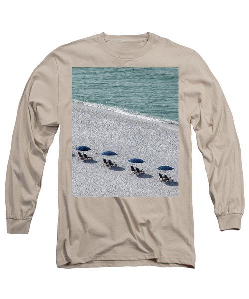Long Sleeve T-Shirt featuring the photograph Beach Therapy 1 by Marie Hicks
