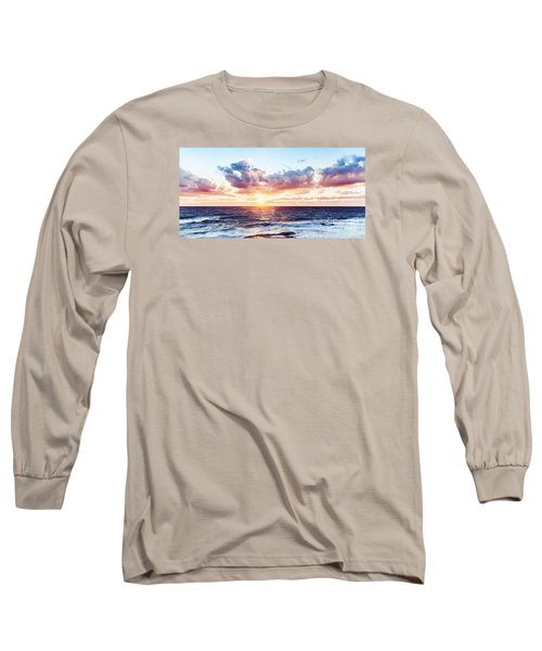 Beautiful Sea Landscape Long Sleeve T-Shirt