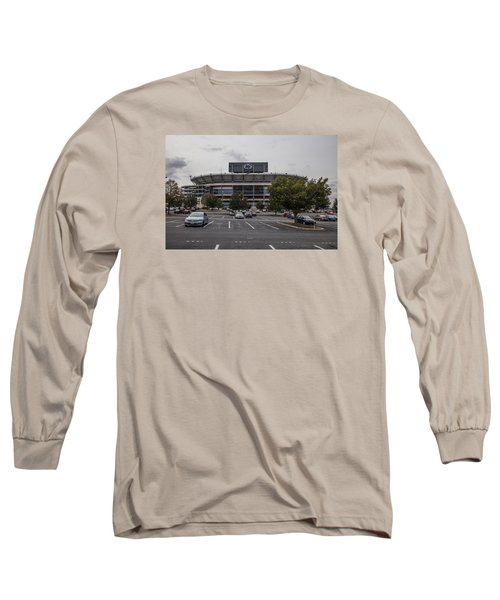 Beaver Stadium Penn State  Long Sleeve T-Shirt by John McGraw