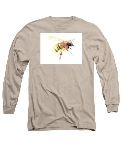 Bee Long Sleeve T-Shirt by Suren Nersisyan