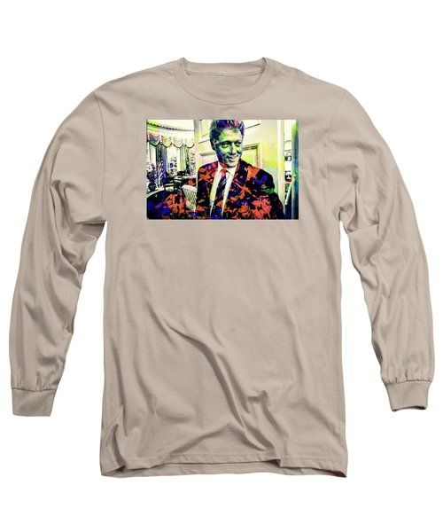 Bill Clinton Long Sleeve T-Shirt