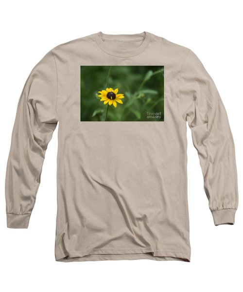 Long Sleeve T-Shirt featuring the photograph Black Eye Susan by Alana Ranney