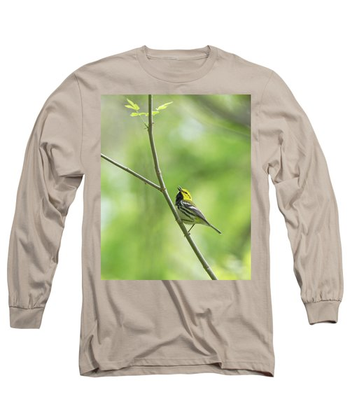 Black-throated Green Warbler Long Sleeve T-Shirt
