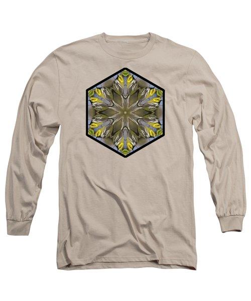 Black-throated Green Warbler Long Sleeve T-Shirt by Rhoda Gerig