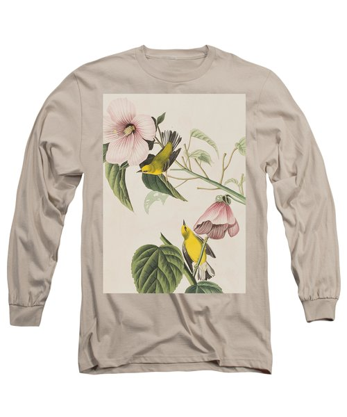 Blue-winged Yellow Warbler  Long Sleeve T-Shirt
