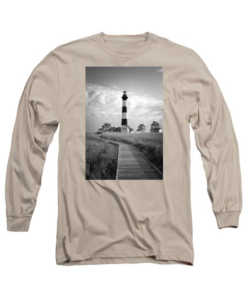 Long Sleeve T-Shirt featuring the photograph Bodie Island Lighthouse by Marion Johnson