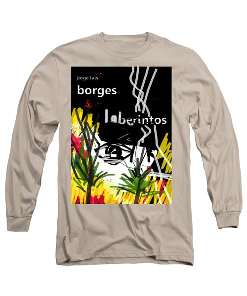 Borges' Labyrinths Poster Long Sleeve T-Shirt