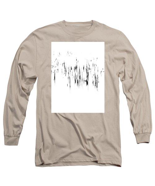 Brushstrokes Long Sleeve T-Shirt by Tim Good