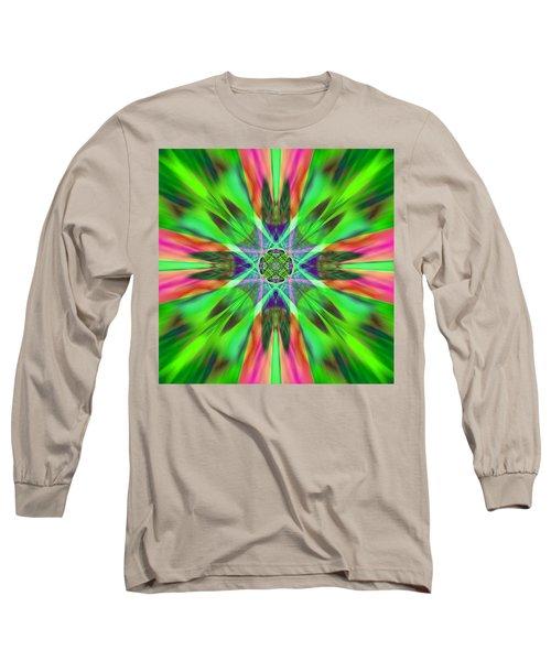 Burst Of Spring Long Sleeve T-Shirt
