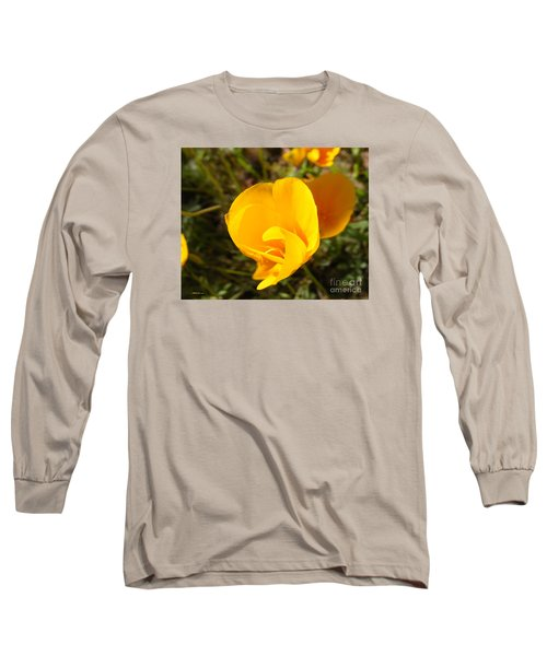 California Poppy Long Sleeve T-Shirt
