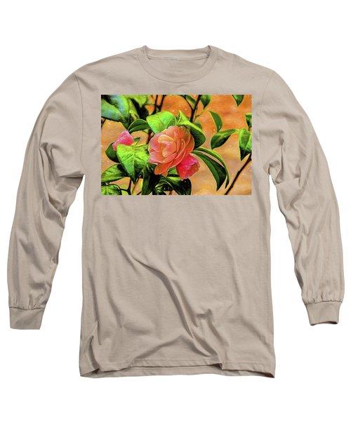 Camellia Candy Long Sleeve T-Shirt
