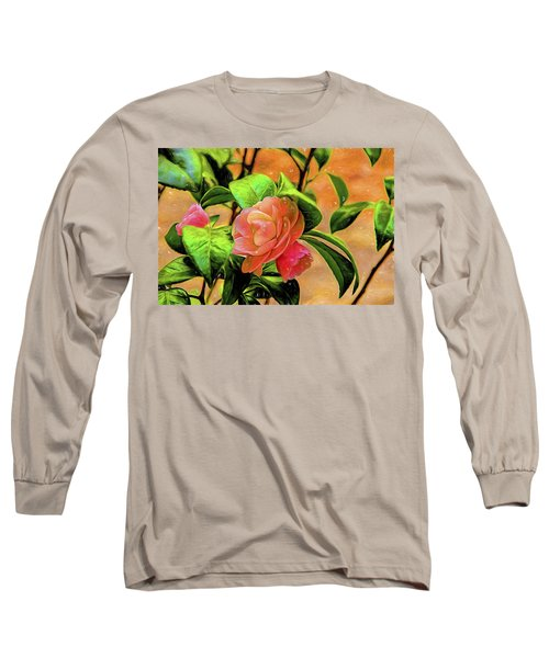 Camellia Candy Long Sleeve T-Shirt