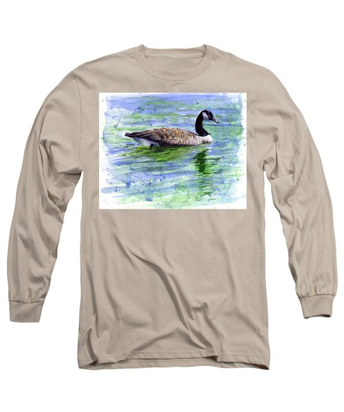 Canada Goose Long Sleeve T-Shirt by John D Benson