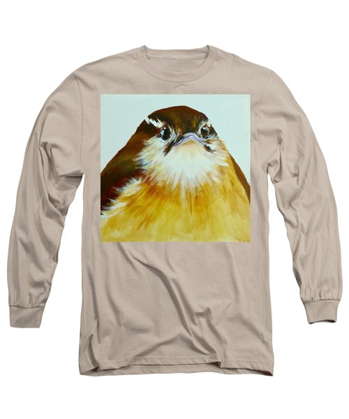 Carolina Wren Long Sleeve T-Shirt