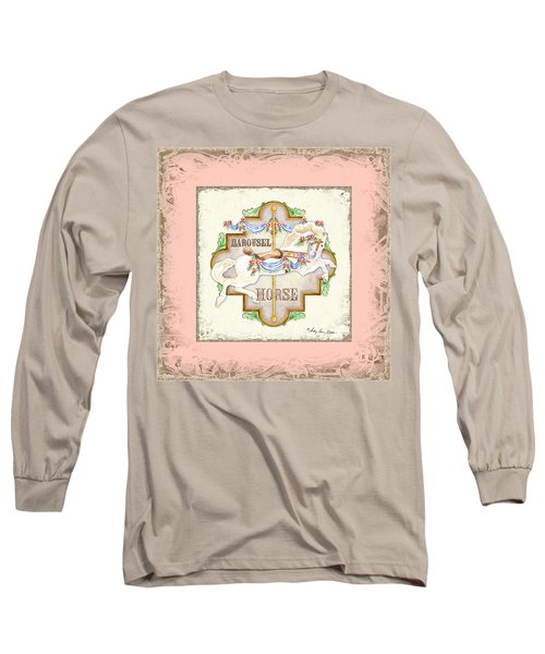 Carousel Dreams - Horse Long Sleeve T-Shirt
