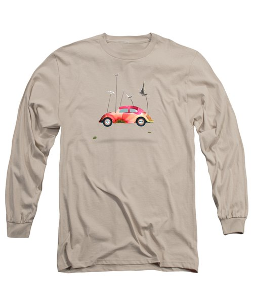 Suriale Cars  Long Sleeve T-Shirt by Mark Ashkenazi