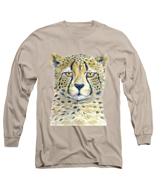 Cheetah Long Sleeve T-Shirt by Katerina Kirilova