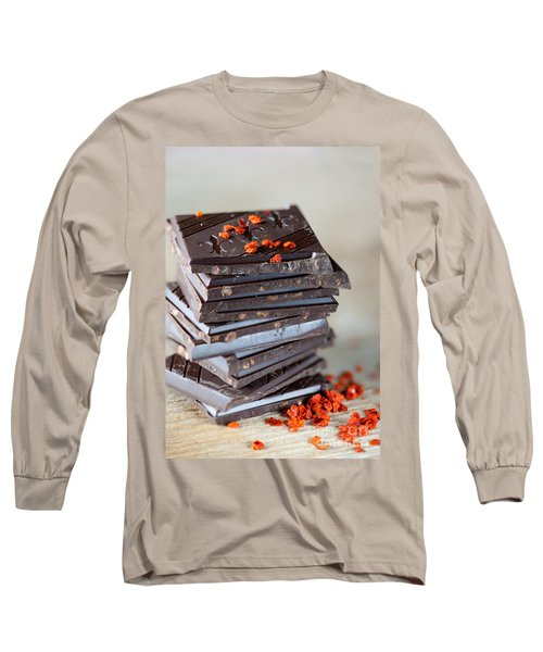 Chocolate And Chili Long Sleeve T-Shirt