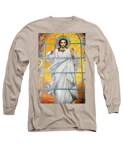 Christ The Redeemer Long Sleeve T-Shirt
