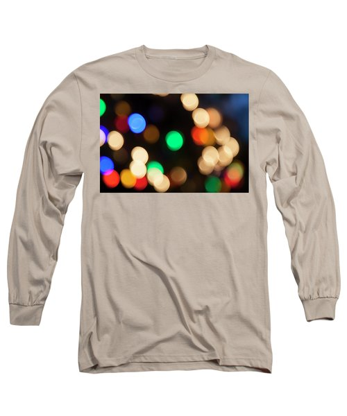 Long Sleeve T-Shirt featuring the photograph Christmas Lights by Susan Stone
