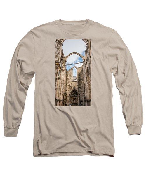 Church At Carmo Convent Long Sleeve T-Shirt