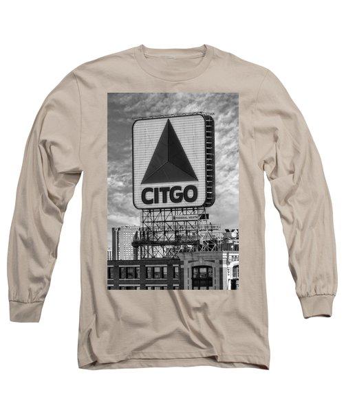 Citgo Sign Kenmore Square Boston Long Sleeve T-Shirt
