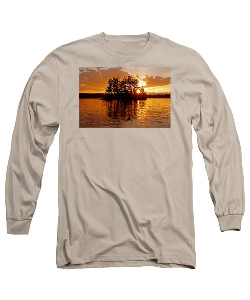 Clarity Of Spirit Long Sleeve T-Shirt by Lynda Lehmann