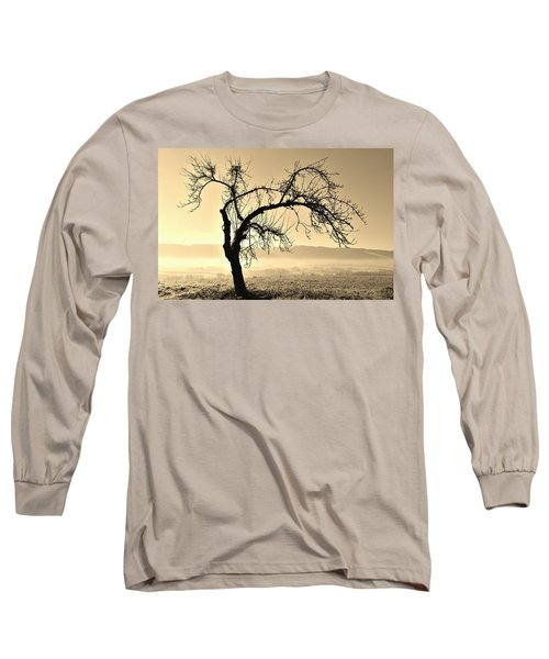cold Winter day.... Long Sleeve T-Shirt by Werner Lehmann