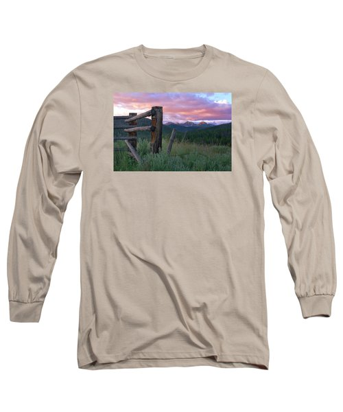 Colorado Glory Long Sleeve T-Shirt by Ronda Kimbrow