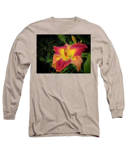 Colorful Lily  Long Sleeve T-Shirt